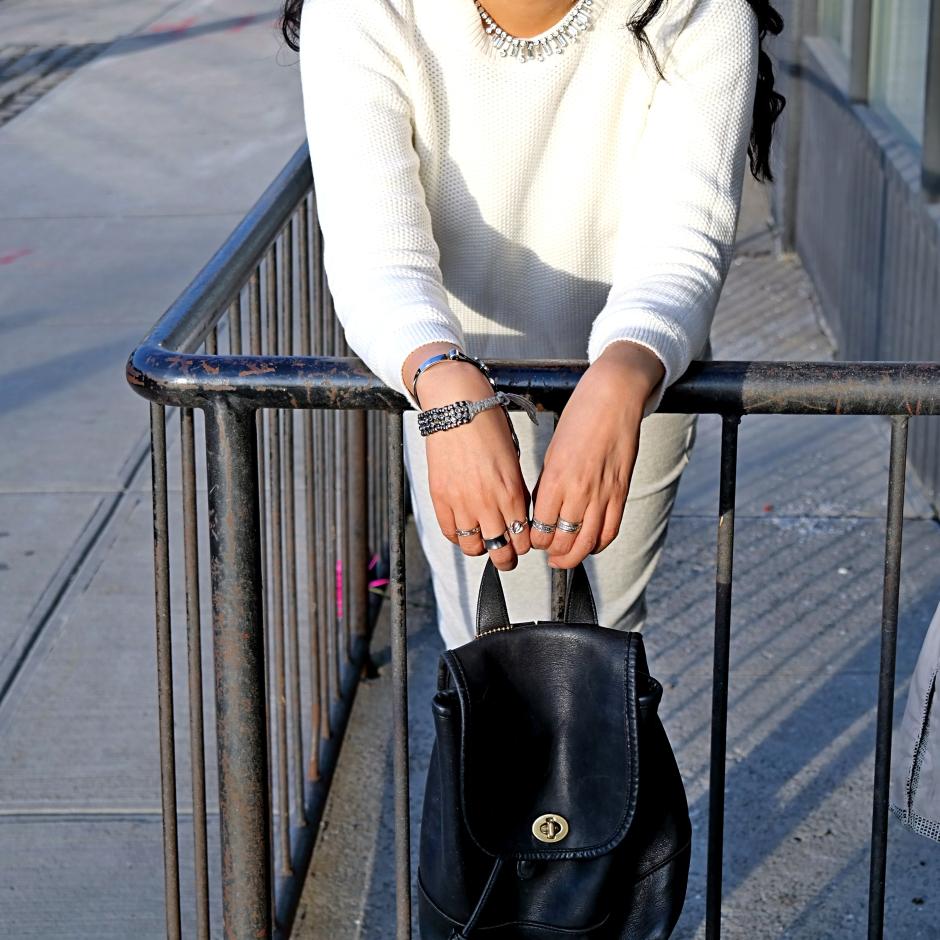 Cesthoa Woven jacket & pencil skirt 2