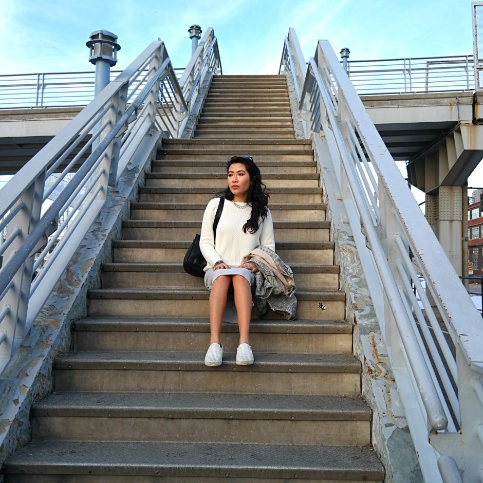 Cesthoa Woven jacket & pencil skirt 5